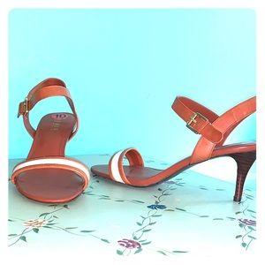 Ralph Lauren safari style heels